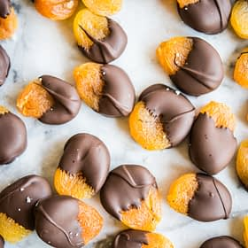 Chocolate Dipped Apricot Bites + 25 Healthy Meal Prep Snack Recipes