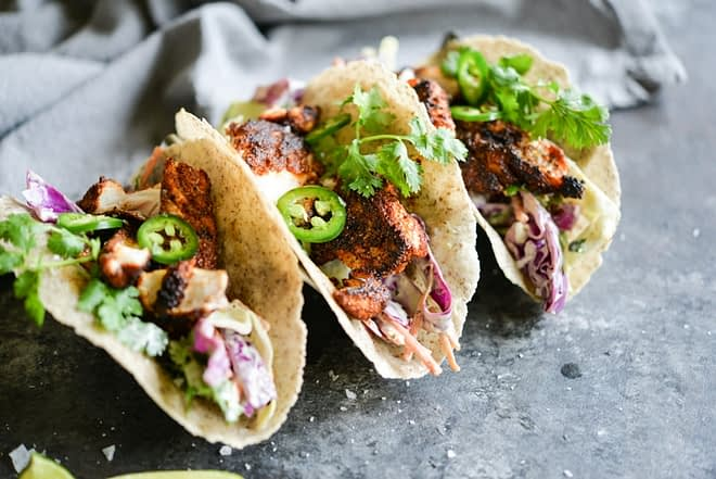 Blackened Fish Tacos Fed and Fit-4