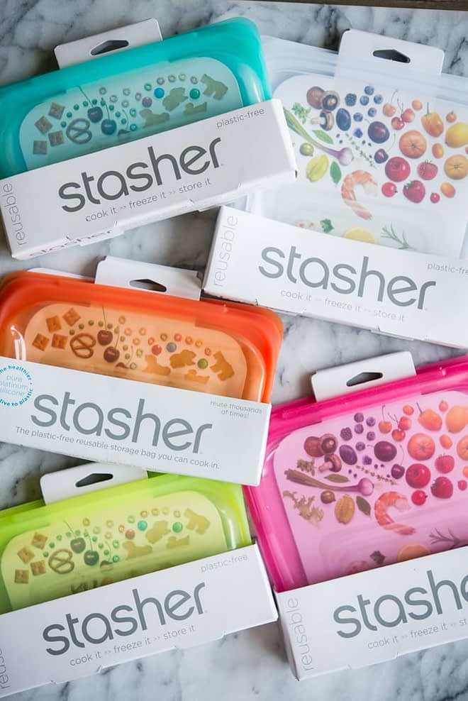 colorful silicone stashed bags