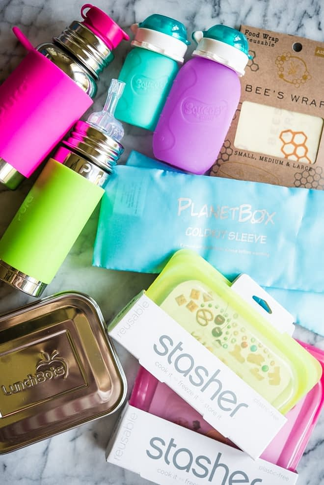 assorted eco-friendly back to school products