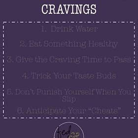 6 Steps to Work Through Cravings