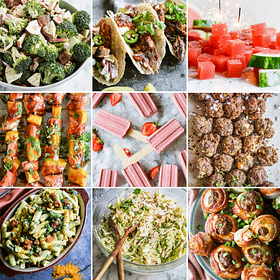 100+ Memorial Day Recipes Perfect for Your Next Summer BBQ