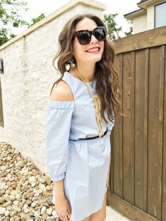 Fed and Fit Powder Blue and Summer Boots-4
