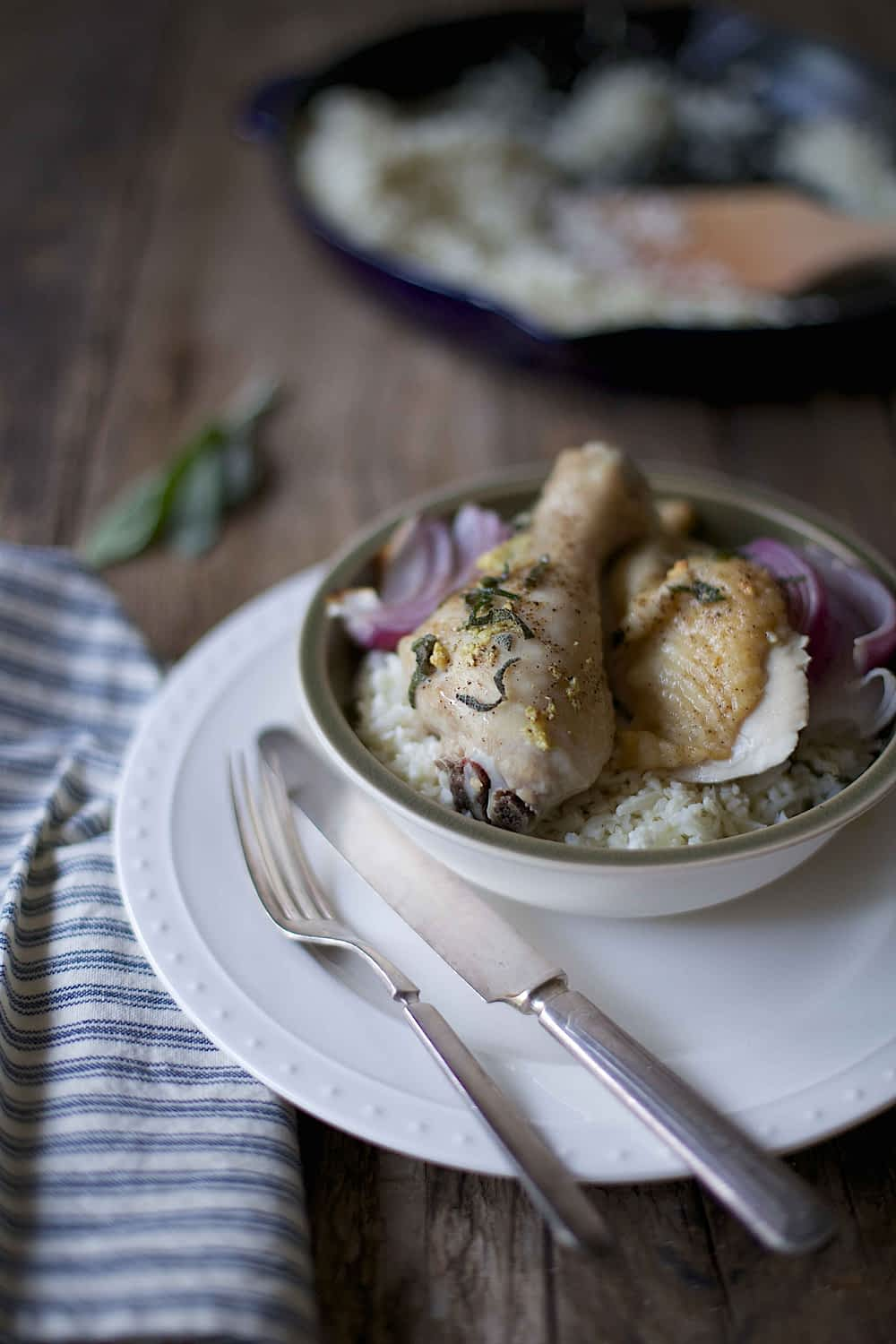 Browned Butter Sage Roasted Chicken