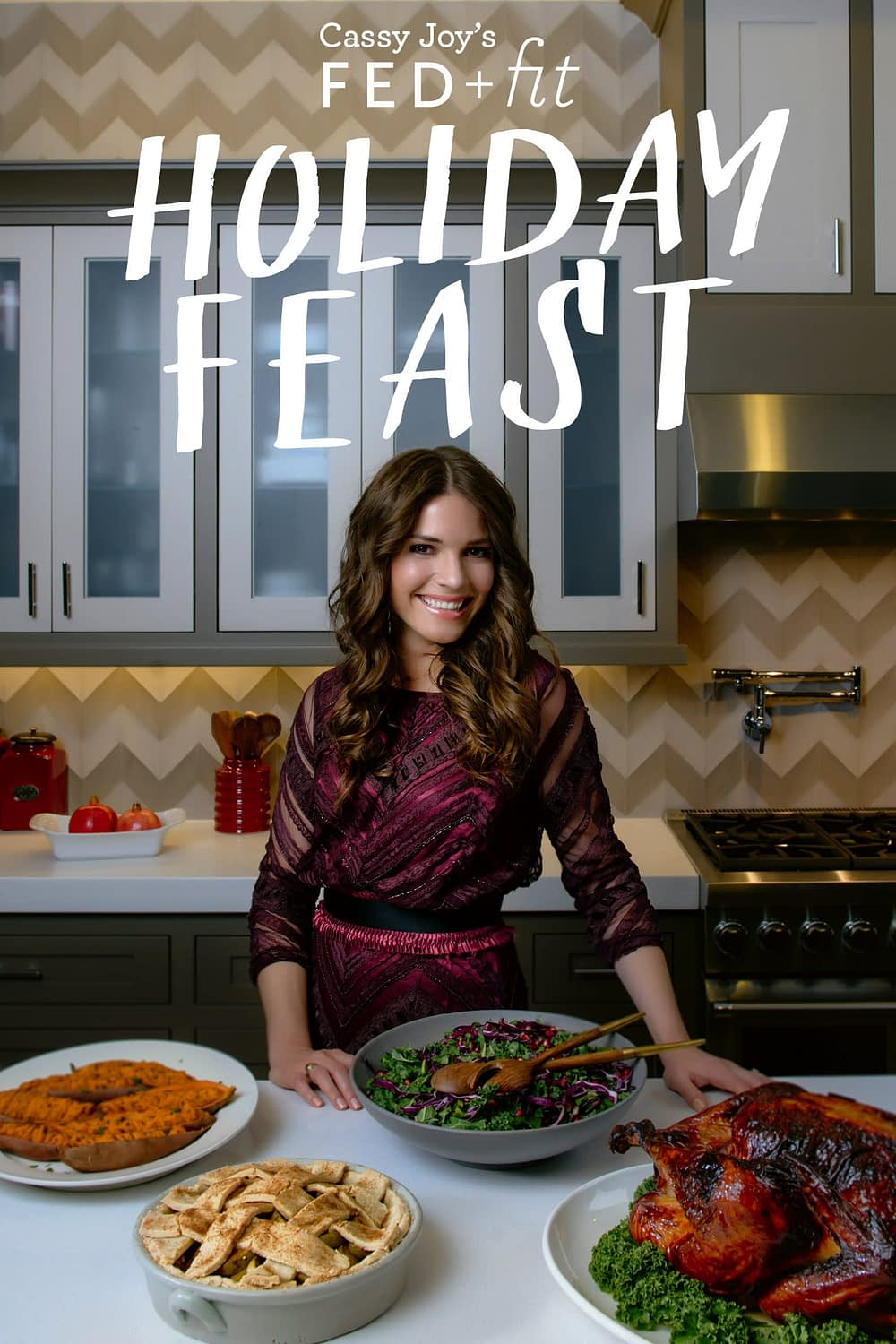 COVER Cassy Joy's Fed+Fit Holiday Feast Ebook