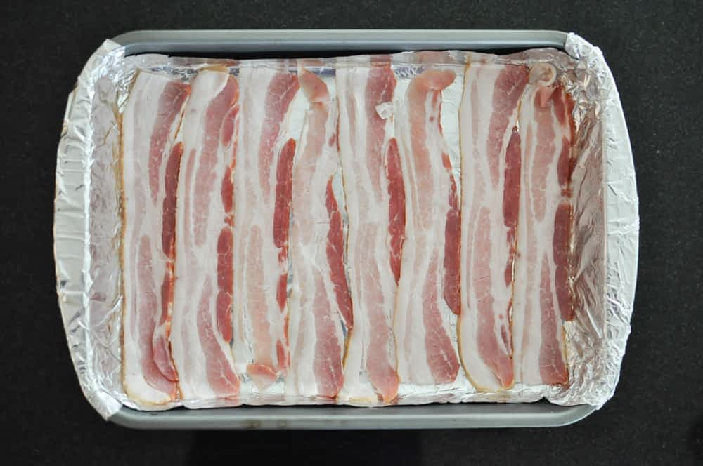 bacon in a sheet pan