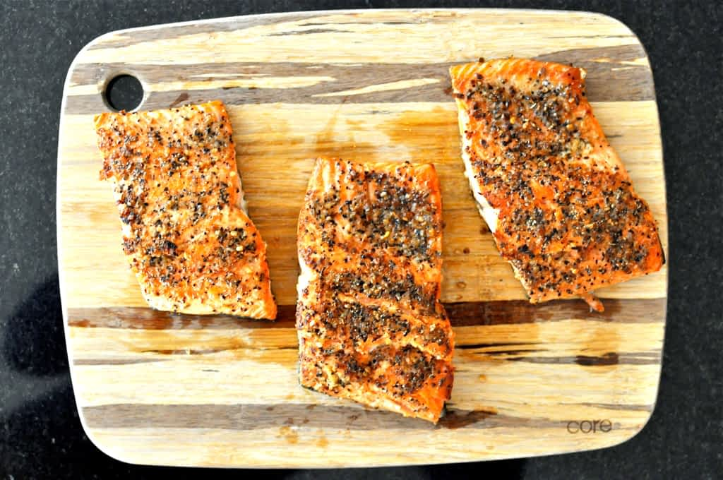 Paleo Peppered Salmo | Fed and Fit