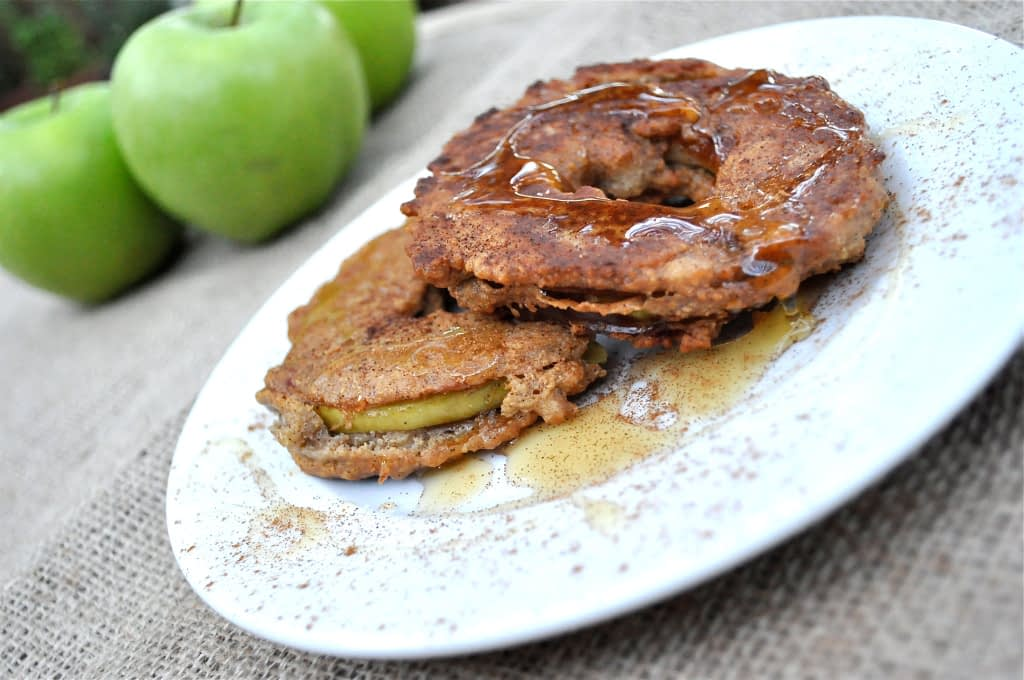 paleo apple fritters
