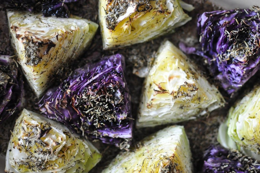 Gather's Roasted Green and Purple Cabbage   Fed+Fit-23