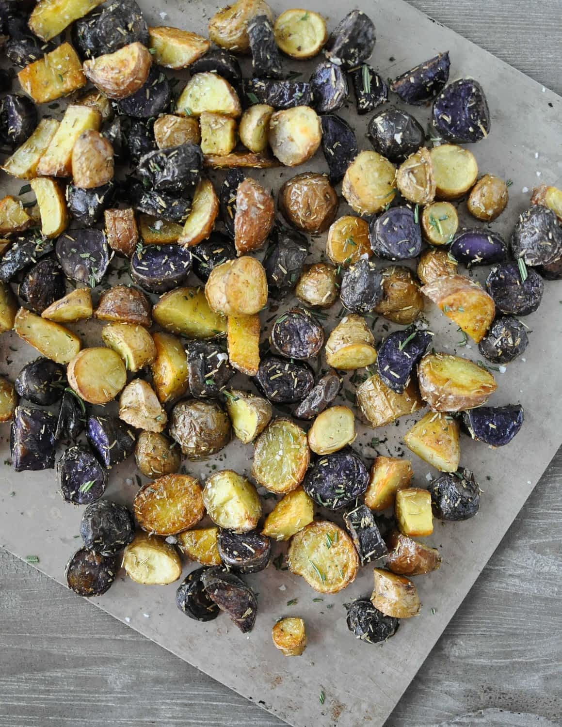 Roasted Rosemary Butter Potatoes