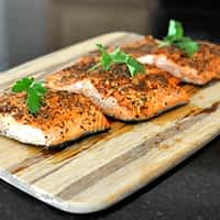 peppered salmon