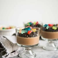 dairy free dirt worm pudding