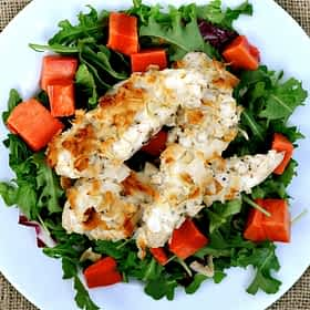 Paleo Coconut Chicken Strips