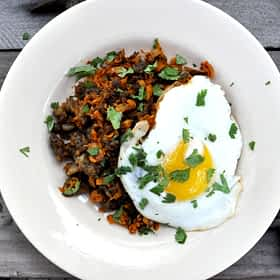 Paleo Sweet Potato Breakfast Hash