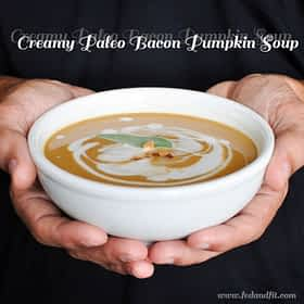Creamy Paleo Bacon Pumpkin Soup