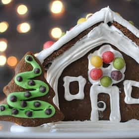 Paleo Gingerbread House