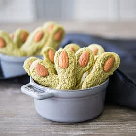 Witches' Finger Cookies (gluten-free)