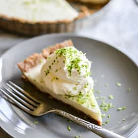 No-Bake Key Lime Pie (GF, DF, EF)