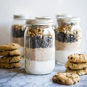Gluten Free Chocolate Chip Cookie Mix + 50 DIY Holiday Gift Ideas