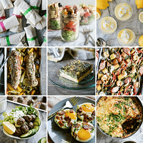 Healthy Meal Prep Roundup