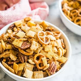 Homemade Chex Mix 3 Ways