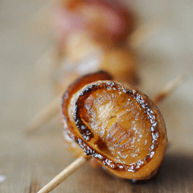 Paleo Happy Hour's Bacon-Wrapped Water Chestnuts