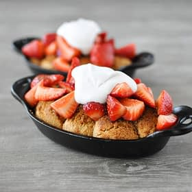 Strawberry Shortcake Skillets