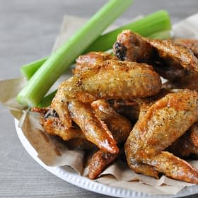 Crispy Baked Buffalo Wings