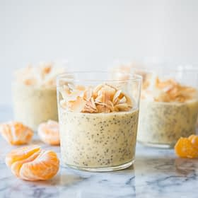 Creamsicle Chia Pudding