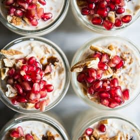 Maple Pecan Overnight Oats