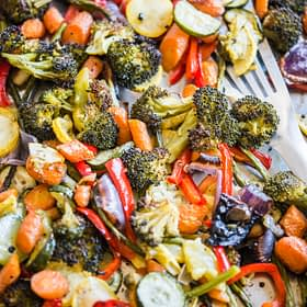 Perfect Roasted Vegetables
