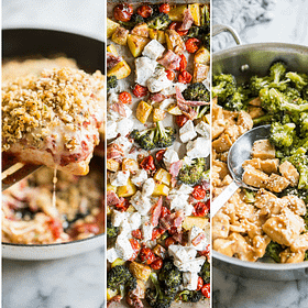 cook once gluten free meal prep plan week 1