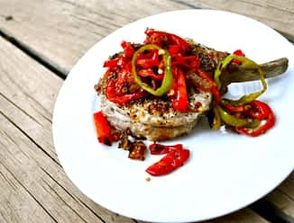 Sweet Chili Pork Chops