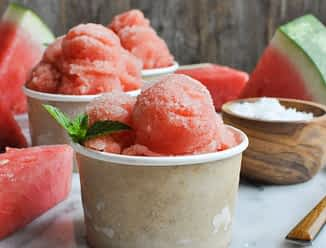 Salted Watermelon Ice