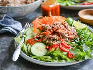 Big Batch Thai Pork Salad
