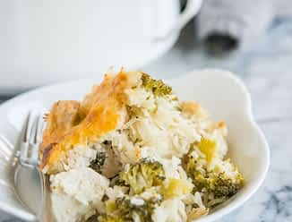 broccoli chicken and rice casserole