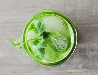 lemon ginger green juice
