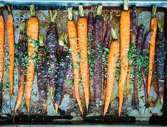 Ginger Orange Caramelized Carrots