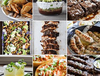 Healthy Super Bowl Round Up image grid