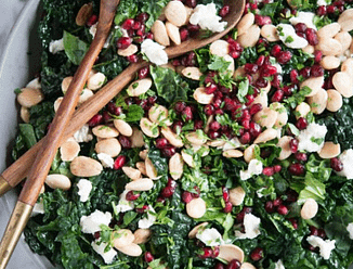 winter kale chopped salad