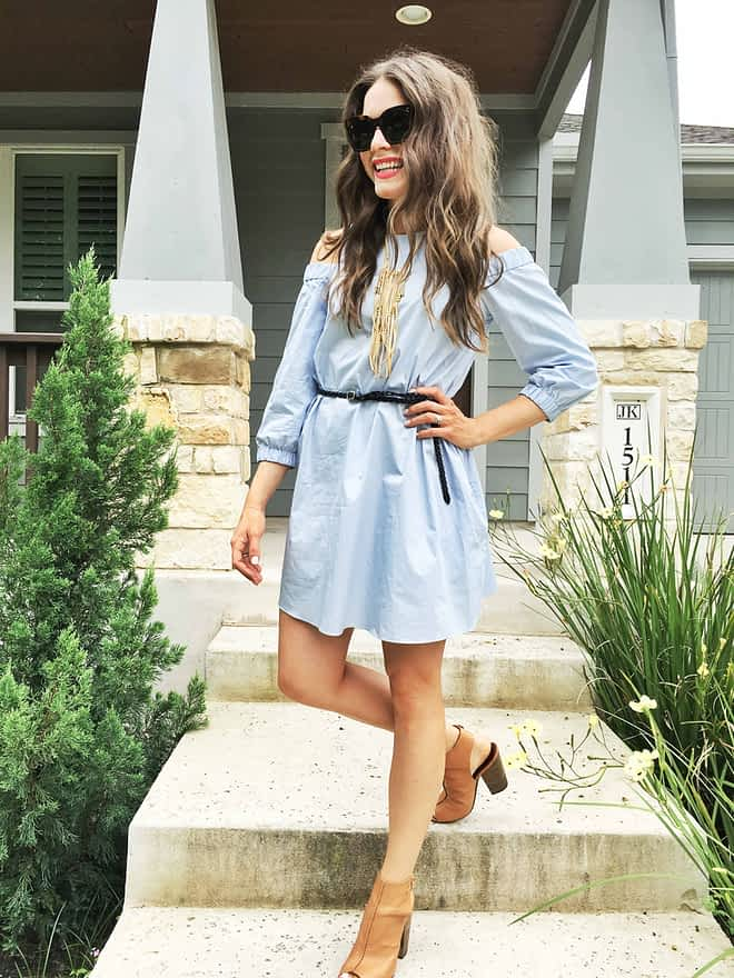 Fed and Fit Powder Blue and Summer Boots-3