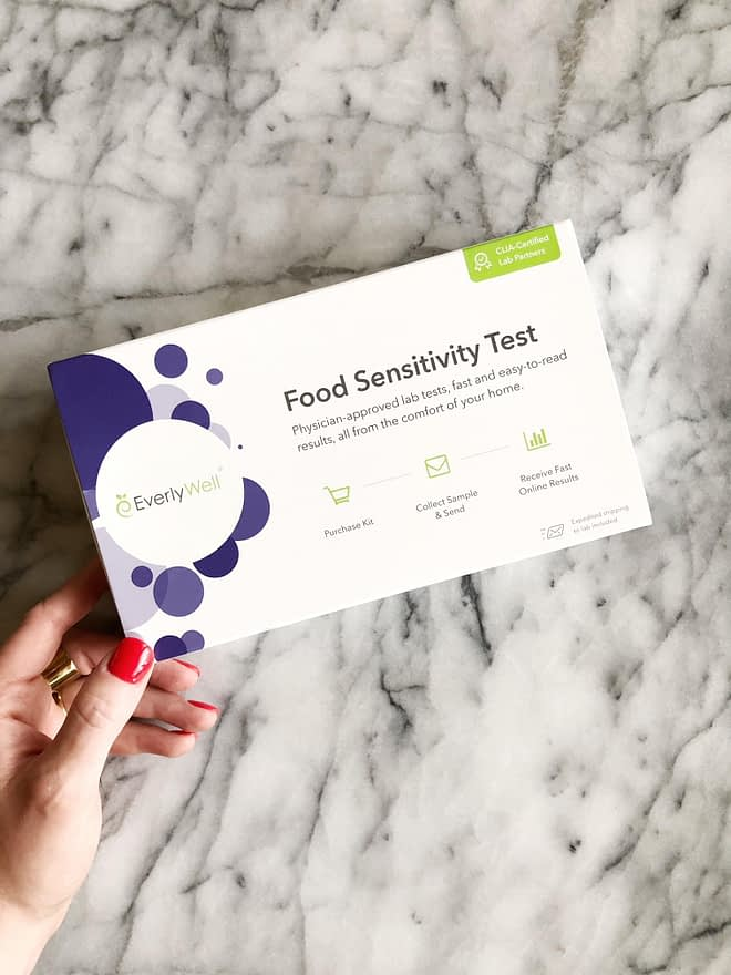 My Food Sensitivity Test Results with EverlyWell | Fed & Fit