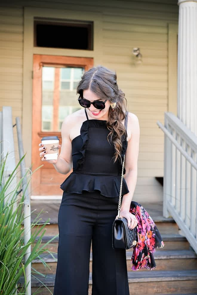 Black Romper Fed and Fit-5