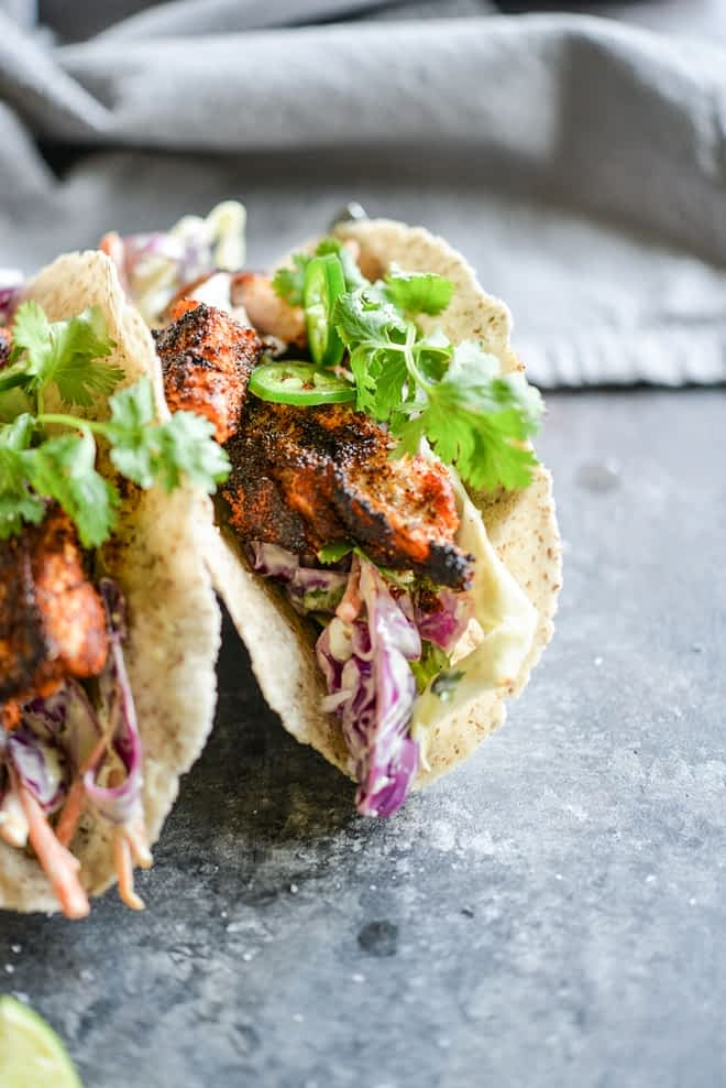 Blackened Fish Tacos Fed and Fit-6