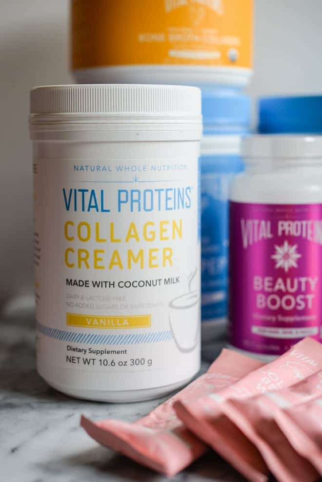 assorted vital proteins products