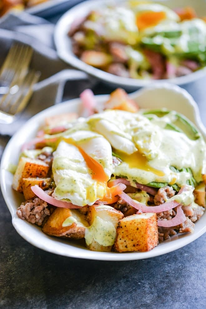 loaded breakfast fries