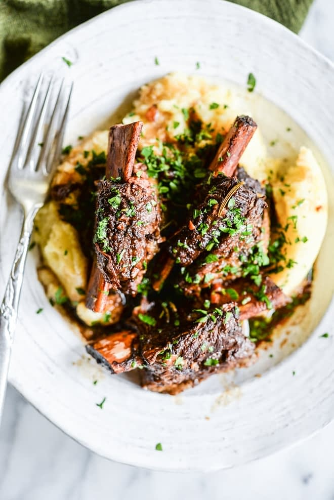 Instant Pot Rustic Short Ribs