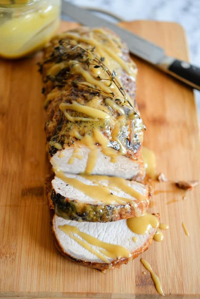 Honey Mustard Pork Roast