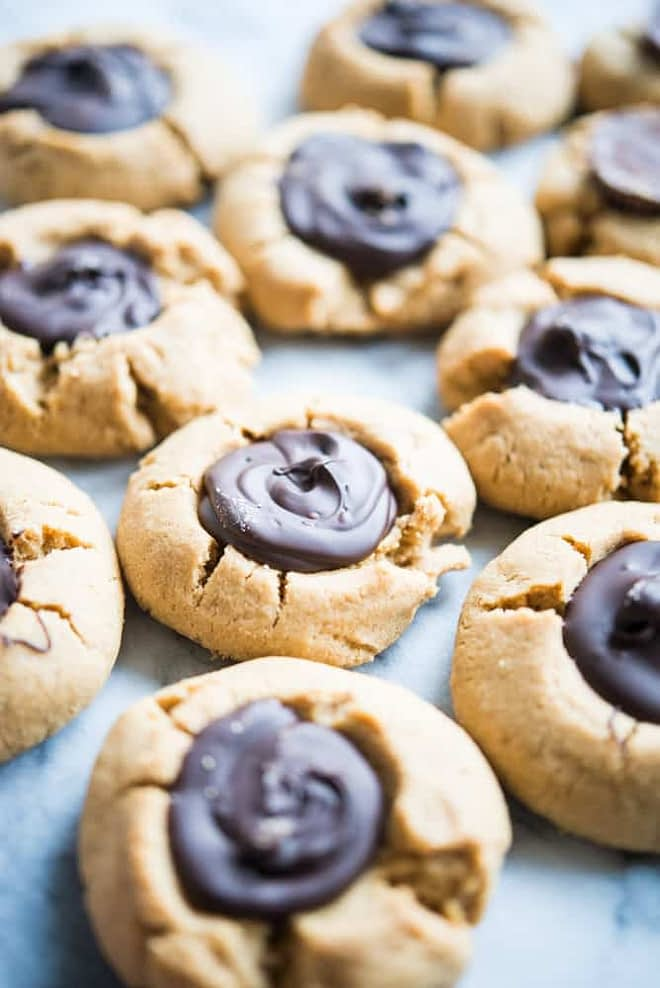 gluten free peanut butter blossoms two ways