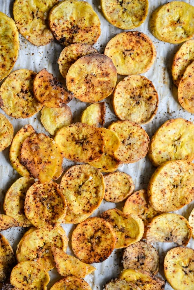 healthy meal prep roundup plantain chips